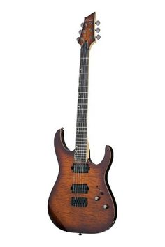 Schecter 1217 Banshee-6 Passive FVSB Electric Guitars -- Continue to the product at the image link.