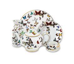 Chávena Chá com Pires Butterfly Parade | Vista Alegre Atlantis