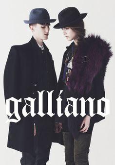 Galliano – Chiến dịch quảng cáo Thu/Đông 2013  http://www.fanthoitrangnam.com/2013/09/16/galliano-chien-dich-quang-cao-thudong-2013/