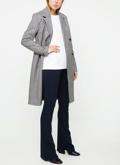 Modström ellery check coat