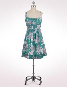 Misses   Dresses   Floral Tie-Back Dress   dressbarn
