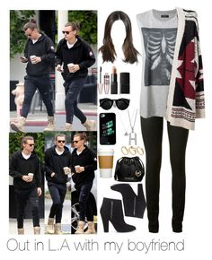 """Out in L.A with Harry"" by myllenna-malik ❤ liked on Polyvore featuring Yves Saint Laurent, Diesel, Forever 21, Maybelline, NARS Cosmetics, ASOS, MICHAEL Michael Kors, OneDirection and harrystyles"