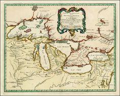 Partie Occidentale de la Nouvelle France ou du Canada . . . 1755 - Barry Lawrence Ruderman Antique Maps Inc.