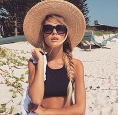 I want a floppy hat for the beach this year
