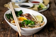 30-minute Red Miso Ramen Bowls with Soft Boiled Eggs
