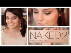 Naked Palette 2 Makeup Tutorial: Smoky Eye - YouTube