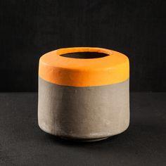 Serax Cement bowl - Orange   www.darkroomlondon.com