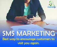 SMS marketing is the best way to encourage customers to visit you again. Research says repeat customers spend 67% more than first-timers. To opt for customer loyalty program with SMS, contact us goo.gl/2kimjM    #digital #NYC #websitemanagementtools #SEOtools #digital #marketing #website #design #business #NewYork #DigitalSecurity #Cloud #OnlineSecurity #Security #CyberSecurity