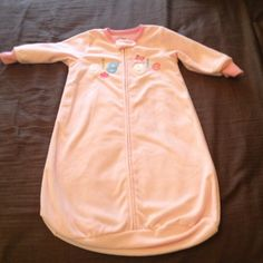 Carter's 0-9 month sleeper pjs Very pretty .. Not need to swaddle at night they will keep your baby warm carters Tops