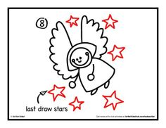 How To Draw An Angel - Art for Kids!