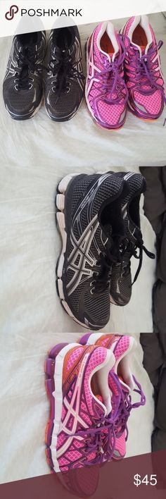Asics running shoes Very lightly worn ascics running shoes. Price is per pair. Asics Shoes Athletic Shoes