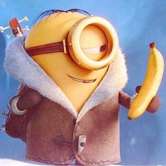 Banana #minion #minions