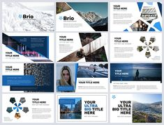 Brio Business Powerpoint Template - Presentations