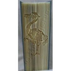 Bird Book Folding Patterns / Templates and Book Folding Software on Bookami® Book Folding Templates, Book Folding Patterns, Pattern Books, Pattern Art, Recycled Crafts, Diy Crafts, Cut And Fold Books, Bird Book, Folded Book Art