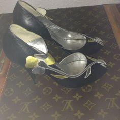Vintage D'Orsay Black Shoes!