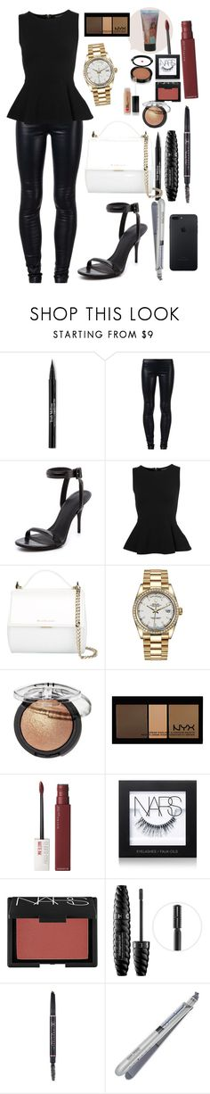 """""""Bryson Tiller Concert 🎶🌙🎤"""" by kingnath ❤ liked on Polyvore featuring Trish McEvoy, The Row, Alexander Wang, Topshop, Givenchy, Rolex, NYX, Maybelline, NARS Cosmetics and Sephora Collection"""
