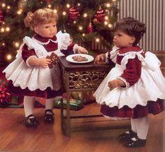 cookies for santa lee middleton doll   Lee Middleton Dolls By Reva