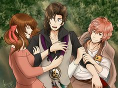 Love through darkness - Wizardess heart by Kawaii-Ash