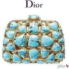 Sweet Dior clutch #dior #purse #handbag #fashion #style