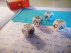 Ideen für kreatives Schreiben entwickeln mit Geschichten- Würfeln (story cubes)
