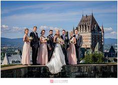Mariage Wedding Fairmont Château Frontenac And Citadelle De Québec