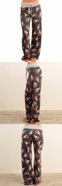 Women'S Leisure Print Pants