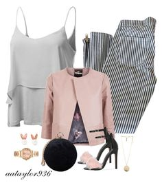 """Flirt"" by aataylor936 ❤ liked on Polyvore featuring Doublju, Elizabeth and James, Ted Baker, Carvela, Aamaya by Priyanka, Givenchy, MICHAEL Michael Kors and leatherjackets"