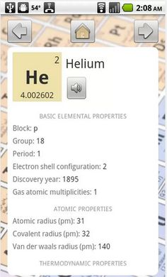 Periodic Table is a back-to-basics app for exploring the periodic table.