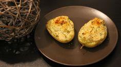 Papilles on/off: Pommes de terre farcies et gratinées à la moutarde au thermomix ou sans