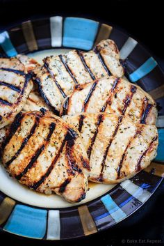 Honey Lime Grilled Pork Chops - Tender and juicy honey lime marinated pork chops that are quick and easy to grill up for the perfect summer meal! Recipes Using Pork, Pork Rib Recipes, Grilling Recipes, Cooking Recipes, Meat Recipes, Grilling Ideas, Recipies, Grilled Pork Chops, Baked Pork Chops