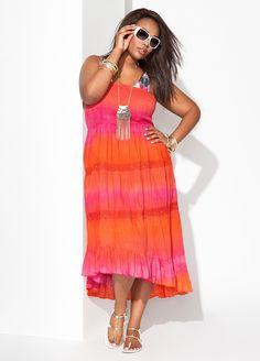 Ashley Stewart Plus Size Summer Look