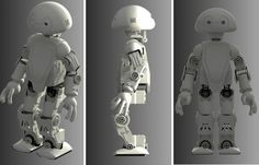 So cool! Now you can 3D print your own robot.