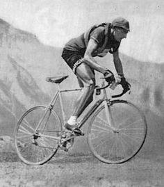 Fausto Coppi, il Campionissimo: 5x Giro, 5x Lombardia, 3x Milano-San Remo, 2x Tour de France, Paris-Roubaix, Fleche-Wallone, hour record.     Funny, I have a son named Fausto.
