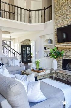 Pin by cheyenne iris on Home Sweet Home Remodelación de casa beautiful house interior images - House Beautiful Deco Design, Design Case, Wall Design, Casa Loft, Spring Home, House Goals, Style At Home, Home Fashion, Home And Living