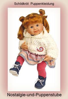 Schildkröt Puppenkleidung für 50 - 55 cm Puppen, buntes... nur 53.90 EUR