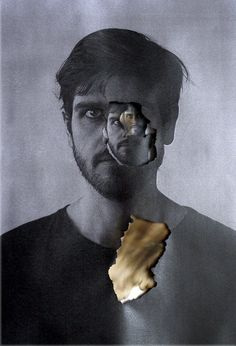 Arts, Crafts, Illusions, Photography, Surreality and Humanities Face Collage, Collage Art Mixed Media, Lucas Simoes, John Stezaker, Portraits, Palette Knife Painting, Photography Editing, Photography Ideas, Ap Art