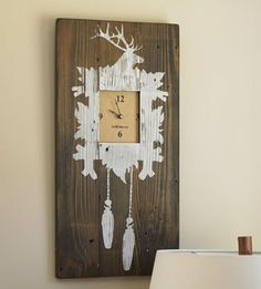 Cool and different clock decor!