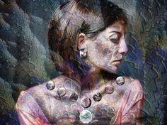 Bejeweled #blendedimages #woman #profile #jewels #fantasy #icolorama #fraxhd #matterapp #matter...