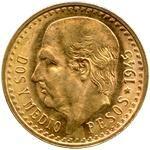 Mexico Gold Two Pesos