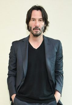 #JohnWick/JohnWickChapter2   Keanu Reeves(John),he looks kind of hot in this photo..I'm not gonna lie. - The wolf that kills