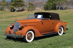 1936 Packard Custom Convertible Victoria - LeBaron