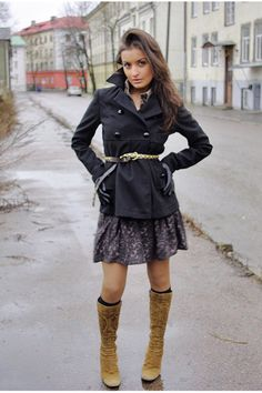 Look con cappotto nero Nuna Lie  // Outfit with black coat Nuna Lie // Lucine // Lucine-a