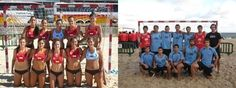 TOMÁ Nota.  Se realizó el sorteo de los grupos para el Mundial de beach handball en Omán. Repasá los rivales celestes en hombres y mujeres.