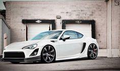 Scion FRS Toyota 86 white
