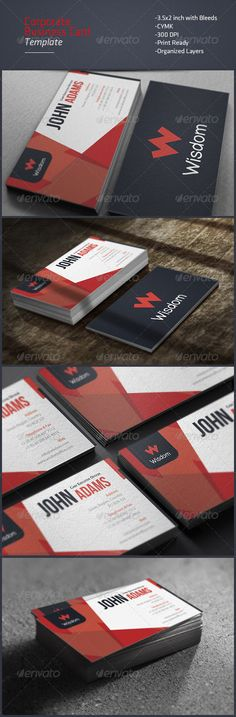 modern corporate business card template black business card