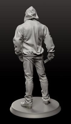 花瓣网- : hood by Hyeong Jin Kim on ArtStation. Shadow Drawing, Body Drawing, 3d Character, Character Concept, Character Design, Zbrush, Jin Kim, Expressions Photography, Anatomy Poses