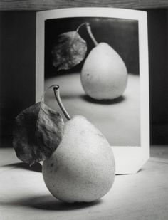 Pear and Polaroid by Andrew Sanderson