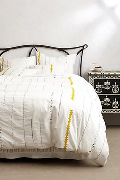 Dusted Chimes Duvet - anthropologie.com #anthroregistry ★ bedroom | slaapkamer
