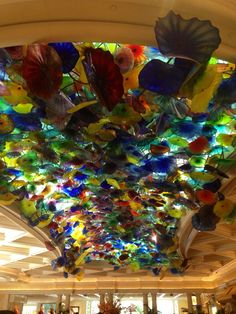 The celing in the belagio is mental!
