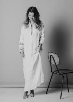 munsun soft washed linen maxidress Ss16, White Dress, Coat, Jackets, Dresses, Fashion, Down Jackets, Vestidos, Moda
